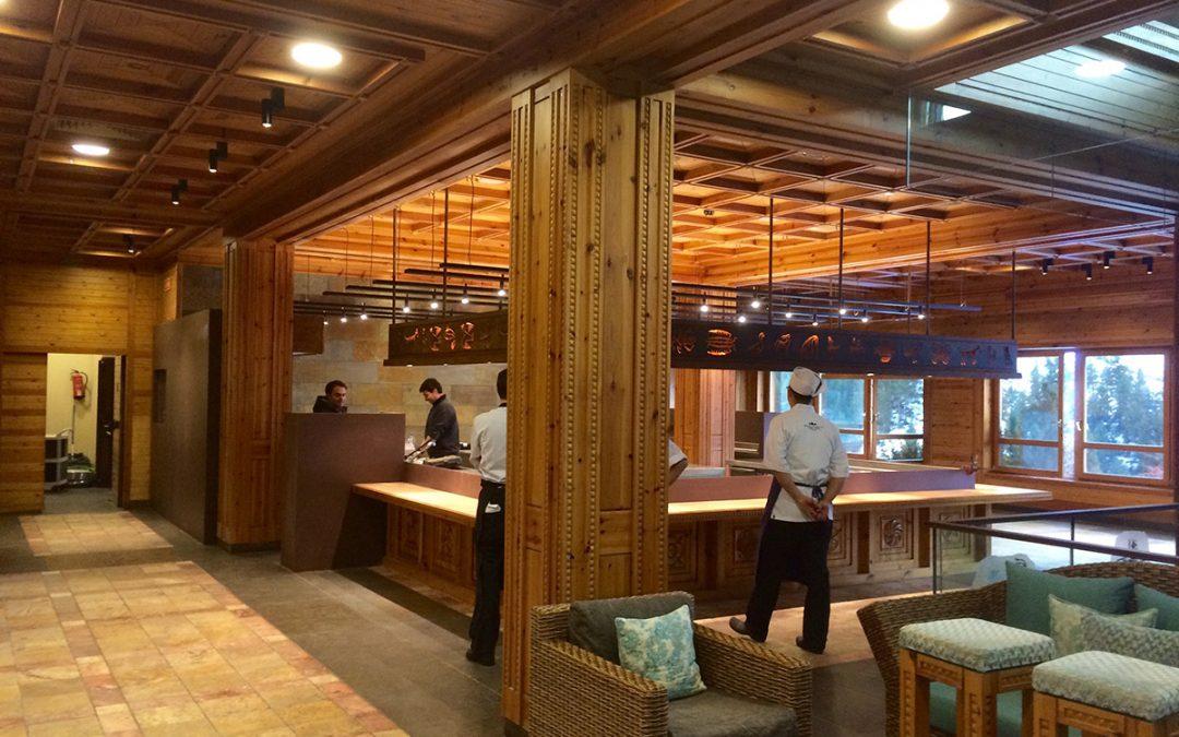 Il·luminació Restaurant Koy Hermitage